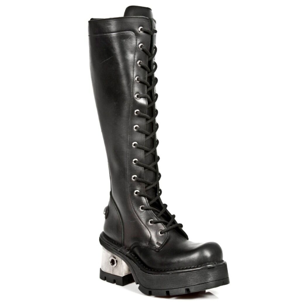 New Rock Boots Womens Style 236 S1 Black