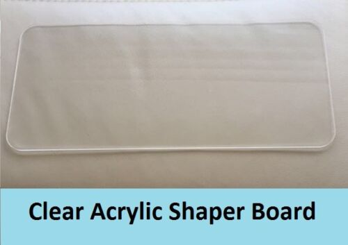 Clear Acrylic Base Shaper Liner Board for Italian designer bag Model BN1844