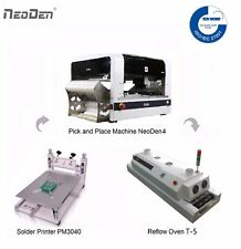 Neoden Pick And Place Machine Neoden4 Vision System Reflow Ovenstencil Printer