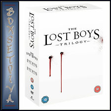 LOST BOYS TRILOGY - 3 FILMS -LOST BOYS-The Tribe-The Thirst **NEW DVD BOXSET***
