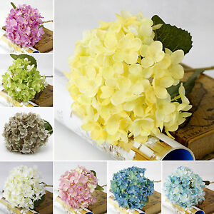 Party-Single-Craft-Silk-Flowers-High-grade-flower-decorated-hydrangea-flower-New