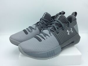 5e3b0dc33ee Under Armour Men's Drive 4 Low Basketball Shoe, Steel/Graphite ...