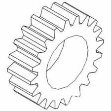 Pinion Gear Compatible With John Deere 4620 4630 7020 7520 4520 R43014