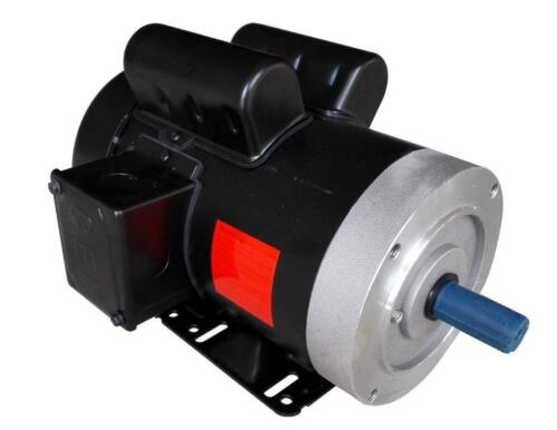 Rolled Steel Farm Duty AC Motor 2HP 1800RPM 56C Removable Feet Single Phase