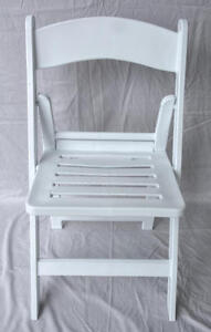 4-New-Folding-Chairs-Party-Event-Commercial-White-Resin-Chair-w-Slatted-Seat