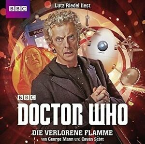 DOCTOR-WHO-DIE-VERLORENE-FLAMME-MANN-GEORGE-2-CD-NEW