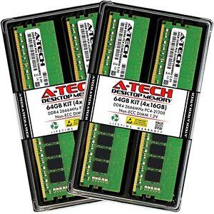 A-Tech-64-Go-4x-16-Go-DDR4-2666-MHz-Desktop-DIMM-PC4-21300-Memoire-288-Pin-RAM-KIT