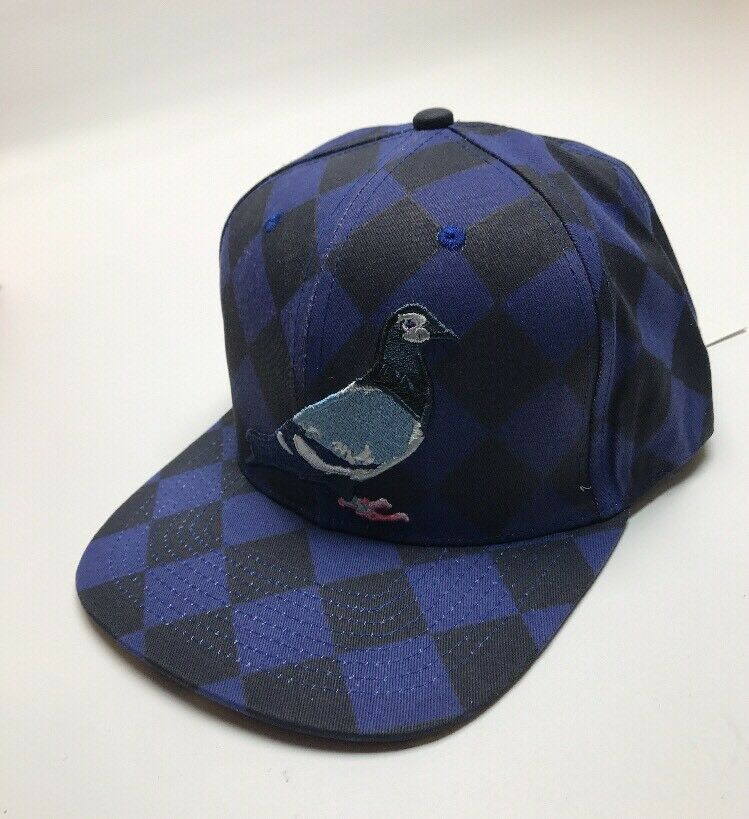 Staple Argyle Pigeon Snapback 1708X3983 Royal 2017 Brand New WithTags