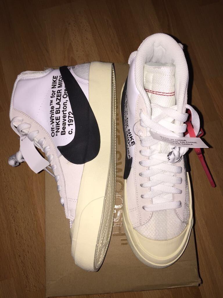 Nike x Off white Blazer Mid Schuhe Gr 38.5 US 6 Deadstock
