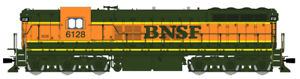 Broadway Ltd EMD SD9 BNSF Heritage Scheme, Paragon3 Sound- DCC- HO