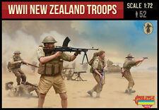 STRELETS WWII NEW ZEALAND TROOPS X 52 FIGURES - 1:72 SCALE -  M111