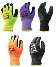 Safety Winter Insulated Double Lining Rubber Coated Work Gloves Bgwans