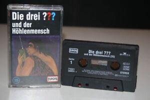 DIE-DREI-FRAGEZEICHEN-35-und-der-Hoehlenmensch-MC-Kassette-EUROPA-HORSPIEL