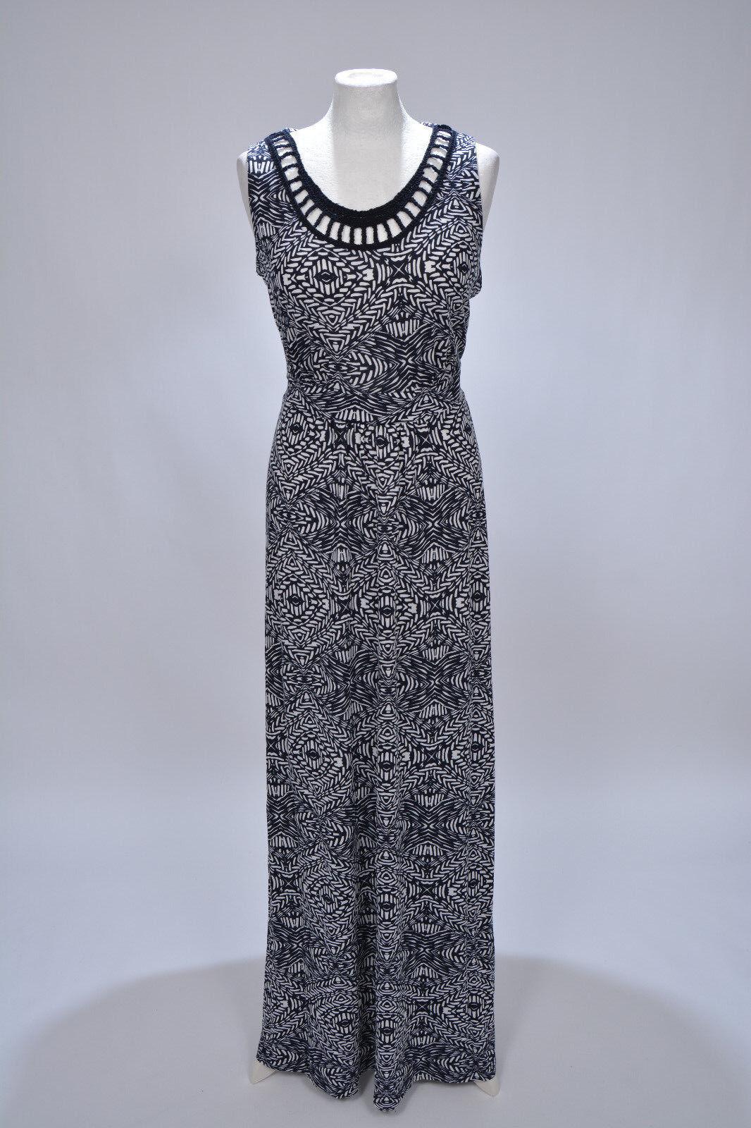 Kleid Maxikleid Shirtkleid mit Häkelspitze von Debenhams, 40 L, neu