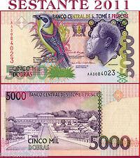 SAO TOME' - SAINT THOMAS & PRINCIPE - 5000 5.000 DOBRAS 2004 - P 65b - FDS/UNC
