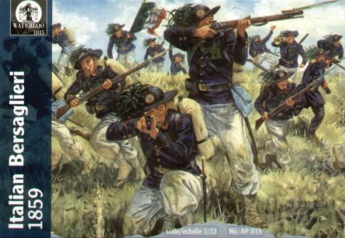 Waterloo 1815 Italian Bersaglieri 1859-1:72