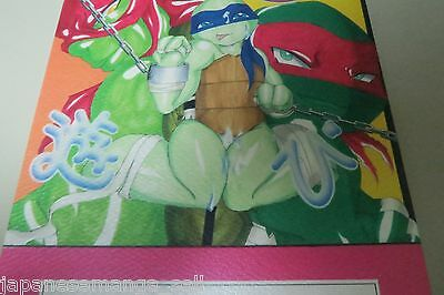 B5 48pages Nonoji D-slight fever Teenage Mutant Ninja Turtles doujinshi DxLxD
