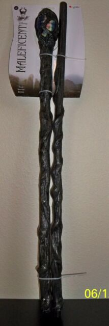 "DISNEY MOVIE MALEFICENT 56"" STAFF WALKING STICK CANE COSTUME PROP DG71846"