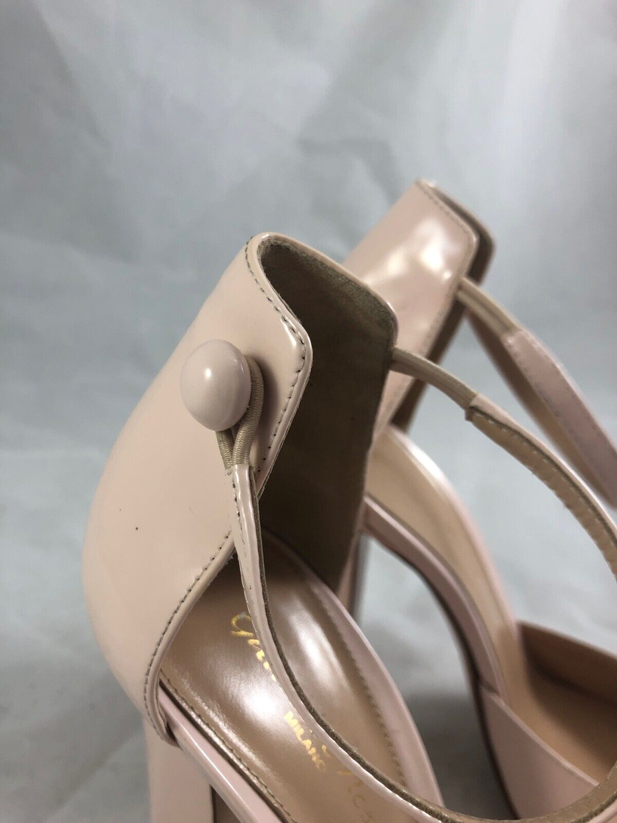 GIANVITO ROSSI Patent Patent Patent Leather Pumps in Baby Pink Size 38 138095