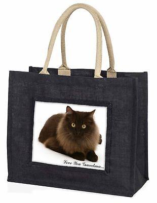 Browny schwarze Katze' liebe Dich Oma' große Einkaufstasche Chris, ac-123lygblb