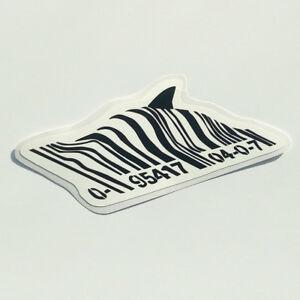 Banksy-Code-Barre-Requin-Autocollant-Autocollant-Vinyle-Street-Art-Graffiti-Voiture-Velo-Barcode