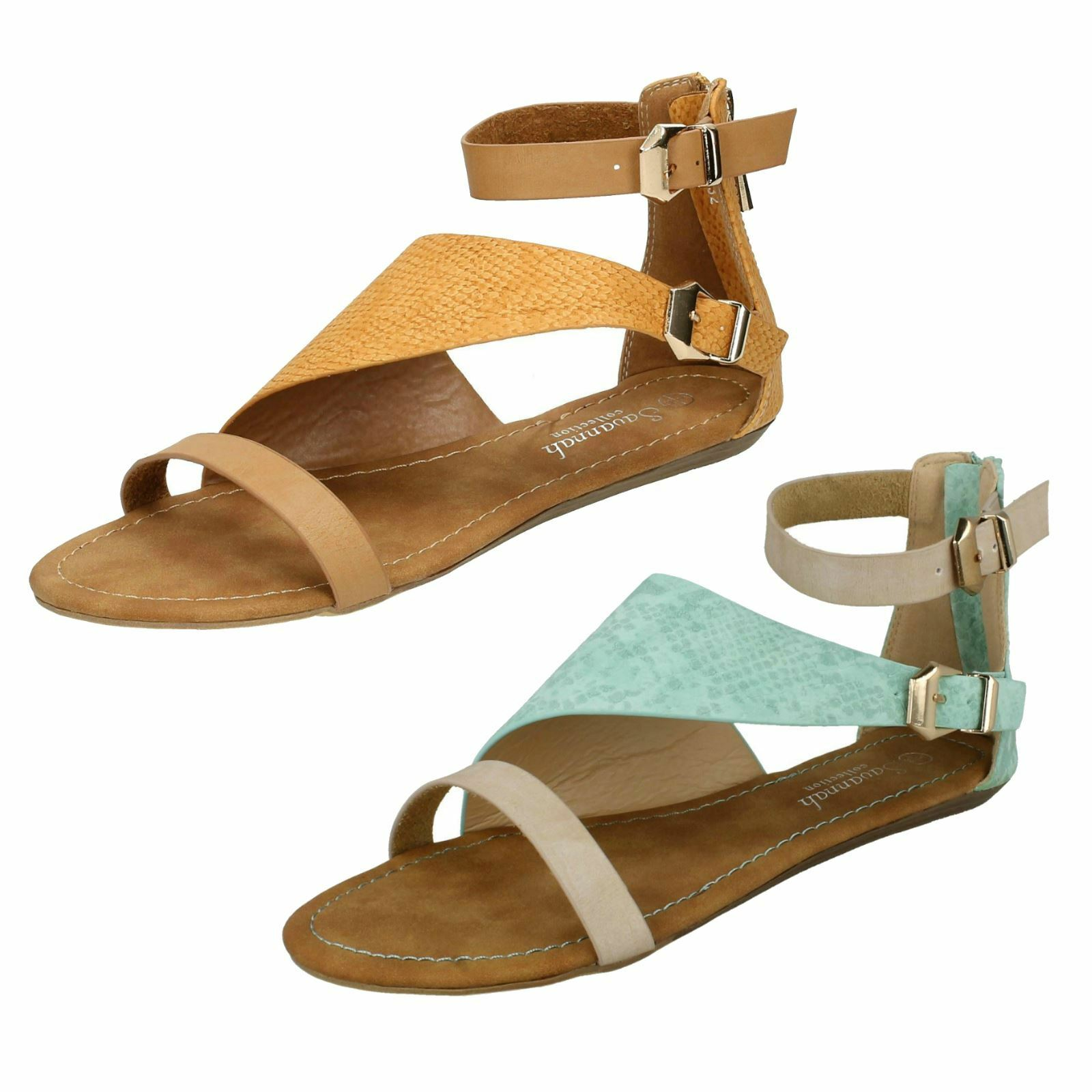 Gentleman/Lady Ladies Savannah Flat 'Summer Sandals' performance Diverse new design Reliable performance Sandals' business 4cebde
