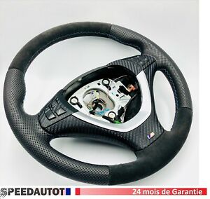 Mise-au-Point-Alcantara-Volant-BMW-E70-X5-E70-Multifonction-Echange-Standard