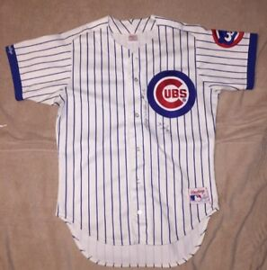1fecdaeace5 Image is loading Chicago-Cubs-Authentic-Rawlings-Jersey-Size-42-Vintage