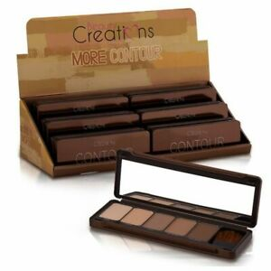 Beauty-Creations-Contour-Palette-with-Brush-5-Natural-Shades-to-Contour-Face