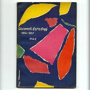 1957-Movimento-Arte-Concreta-DOCUMENTI-D-039-ARTE-D-039-OGGI-1956-57-Abstract-Lithograph
