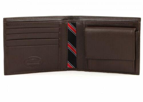 Tommy Hilfiger Eton CC And Coin Pocket Porte-monnaie Portefeuille Brown Marron