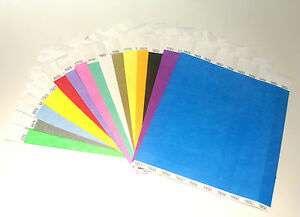 Plain-Coloured-Tyvek-Paper-Wristbands-For-Events-Parties-Security-Festivals