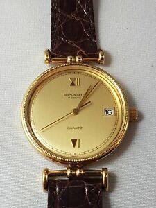 Raymond Weil men's Vintage Rare Watch, nice collector watch !