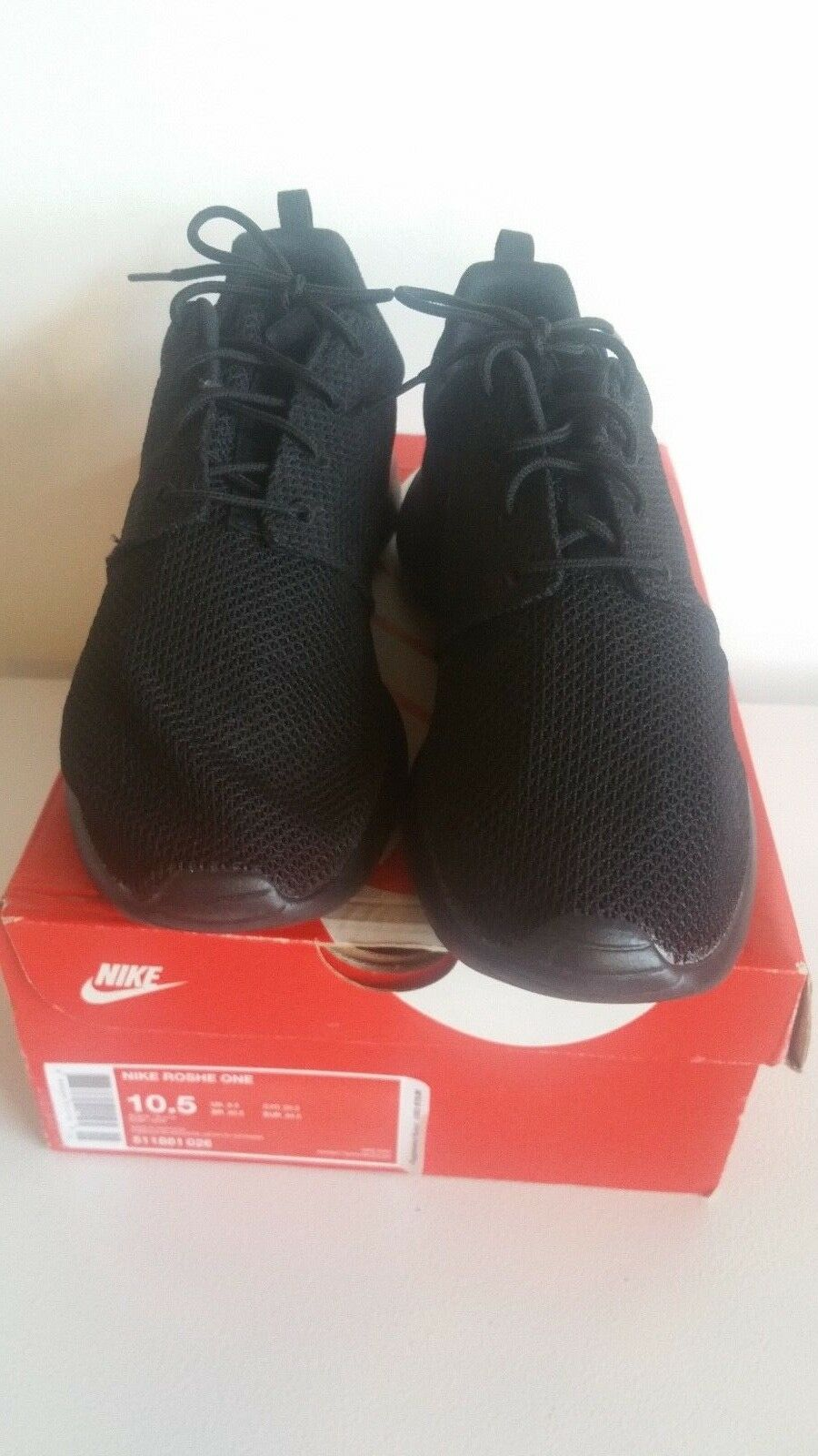 07f310ec8055f Nike Nike Nike Men s10.5 Roche One Running shoes Black Black 511881 ...