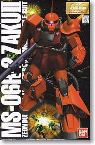 Bandai MG 1 100 Ms-06r-2 Zaku II Johnny Montado a Medida