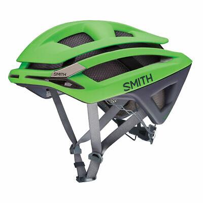 SMITH OVERTAKE Road Cycle Bike Helmet Green Grey Gardient Koroyd S or L