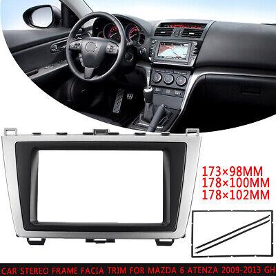 Car Stereo Fascia Dash Panel Frame Trim Kit 1 Din  For Mazda 6//Atenza 2002-2007