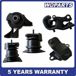 Engine Motor Mounts Front Right or Left Set Kit 3.2  3.5 L For Honda Acura Isuzu