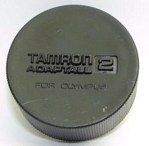 ORIGINAL TAMRON ADAPTALL2  FOR OLYMPUS OM  BAYONET REAR  LENS CAP