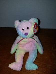 "TY BEANIE BABY 2006 /"" GROOVEY /"" THE BEAR MINT WITH MINT TAGS"