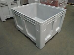 PALLET BOX  - BIG BOX DOLAV  - HEAVY DUTY COMMERCIAL CONTAINER 1200X1000X790MM