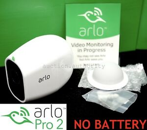 NEW-ARLO-PRO-2-Netgear-1080p-HD-Add-On-Security-Camera-Wireless-gt-NO-BATTERY-lt
