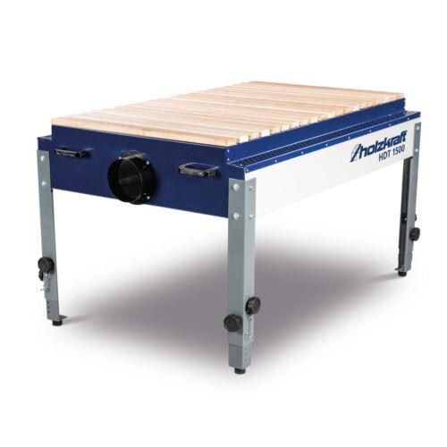 HDT 1500  Schleiftisch Holzkraft mit Holzauflagerost 5180015H