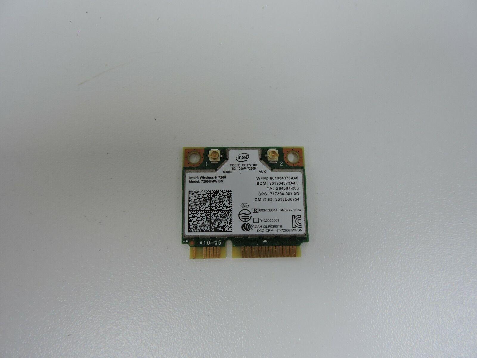 Clevo XMG W370SS WLAN WIFI Card Card 135 BNHMW