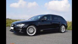 Audi-A4-Avant-2-7-TDI-S-Line-B-amp-O-SOUNDSYSTEM-Xenon-Sportpaket-TEILLEDER