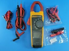 Fluke 373 Trms Clamp Meter Good Condition Accessories Screen Protector
