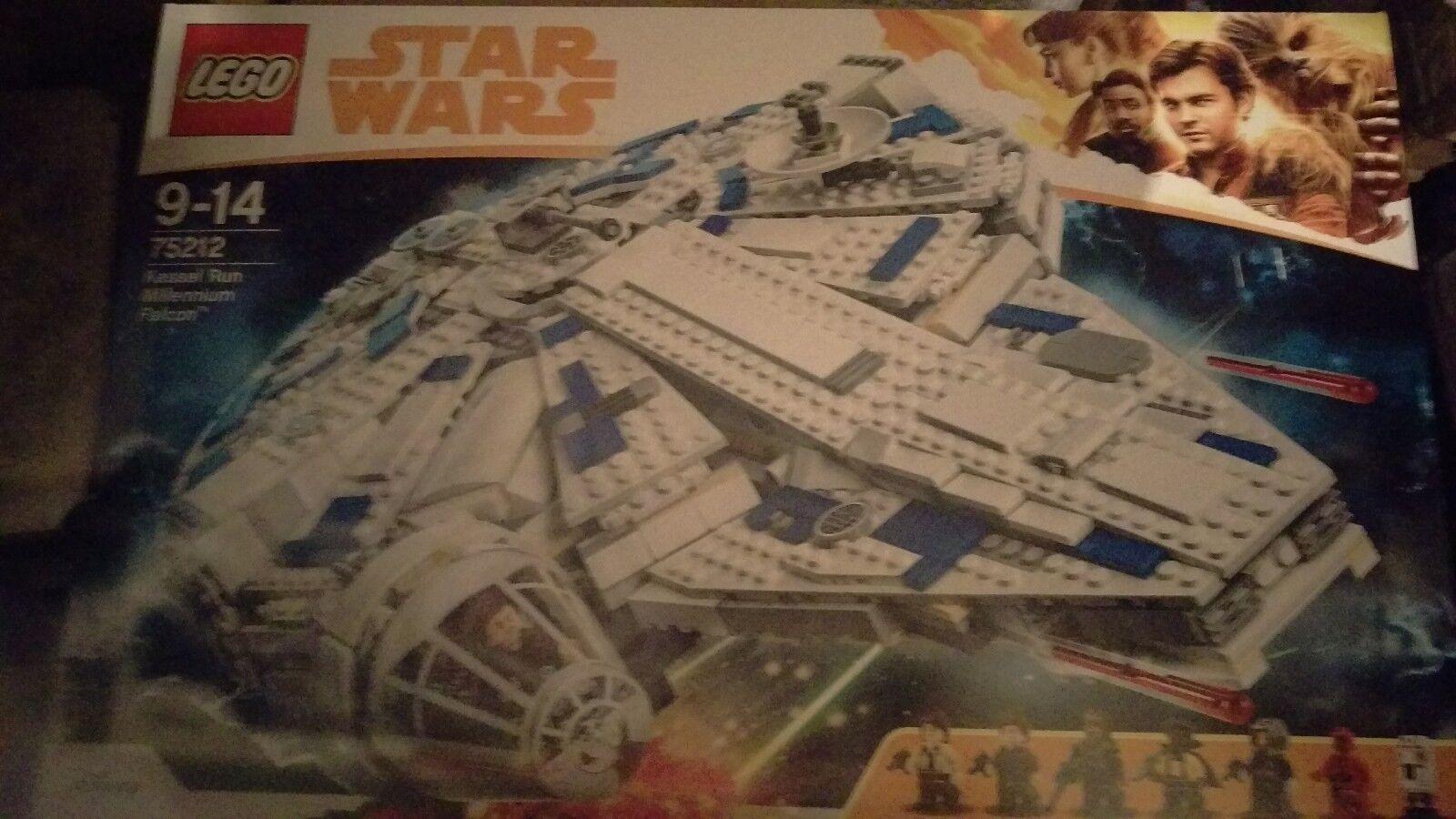 Halcón Milenario Kessel  Run Lego Star Wars 75212 Millenium Falcon