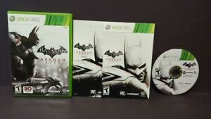 Batman Arkham City - Microsoft Xbox 360 Complete 1 Owner Mint Disc Original