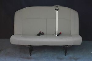 2012 Ford Econoline Bench Seat 3 Passenger Gray Cloth Ebay