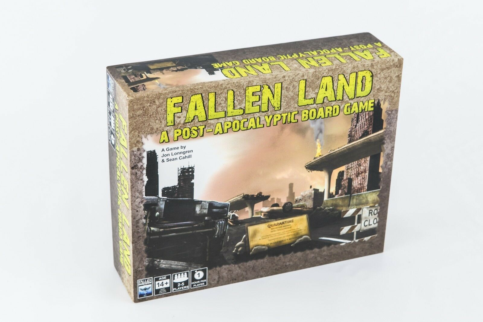 Fallen Land  A Post-Apocalyptic Board Game